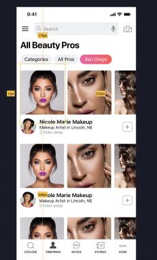 Responsive React Native app